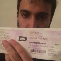 Aquí, otro usuario de Instagram con el boleto. Foto:vía Instagram