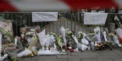 Para cuando llegó la policía fue peor. Foto:vía AFP