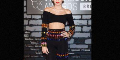 Miley Cyrus nació para ser controversial. Foto:vía Getty Images