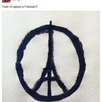 Luis Suárez: Todo mi apoyo a Francia. Foto:Vía facebook.com/suarez16luis