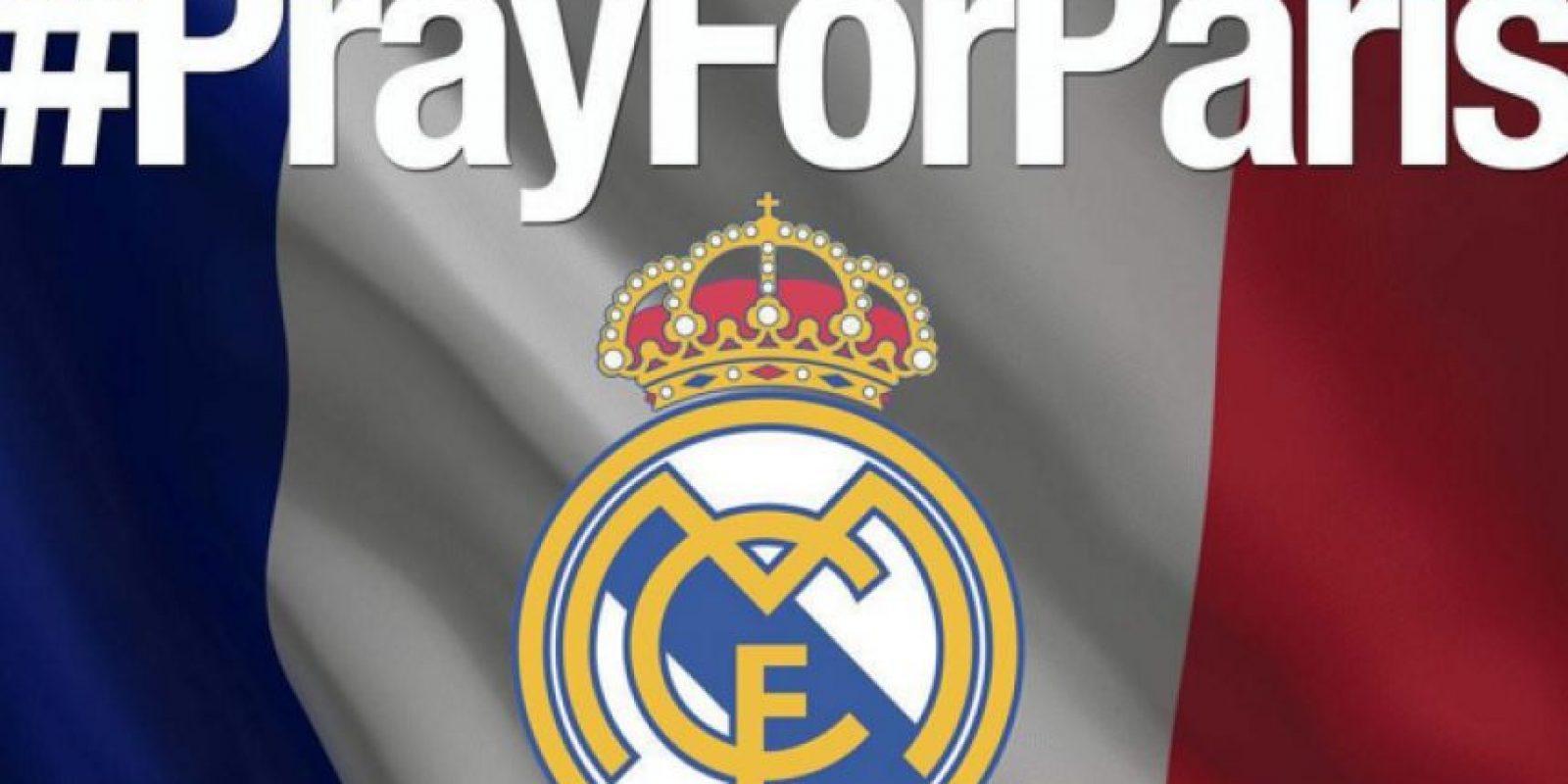 Real Madrid: Oremos por París. Foto:Vía instagram.com/realmadrid