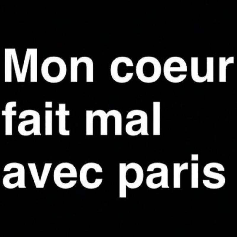 Serena Williams: Me duele el corazón con París. Foto:Vía instagram.com/serenawilliams