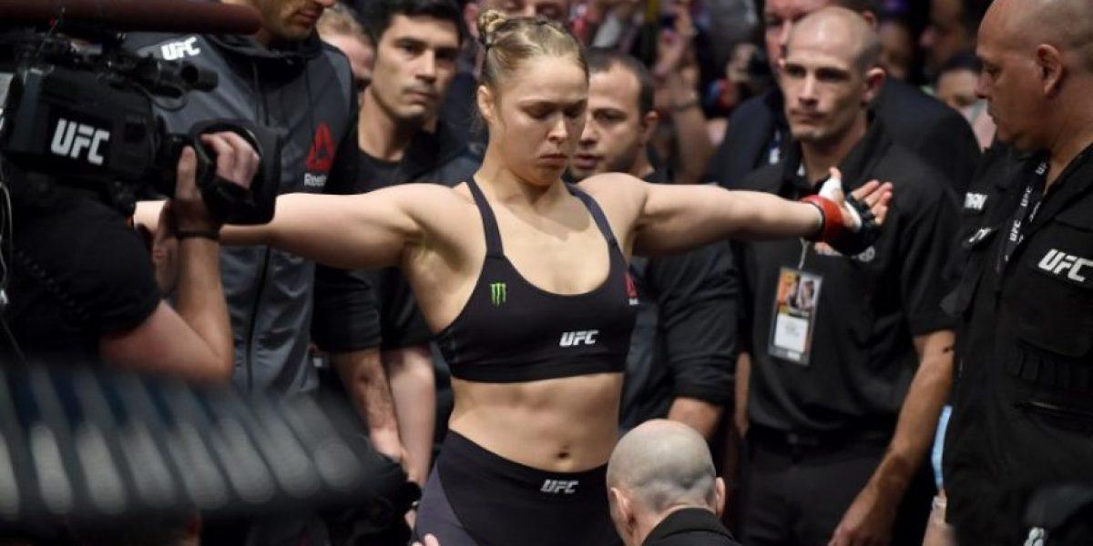 FOTOS. Mira la patada que acabó con Ronda Rousey en la pelea de anoche