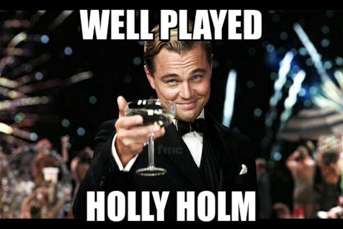 Bien jugado, Holly Holm. Foto:Vía facebook.com/MemesMMA