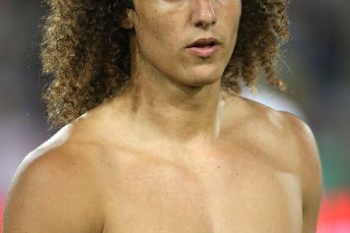 David Luiz es brasileño. Foto:Getty Images