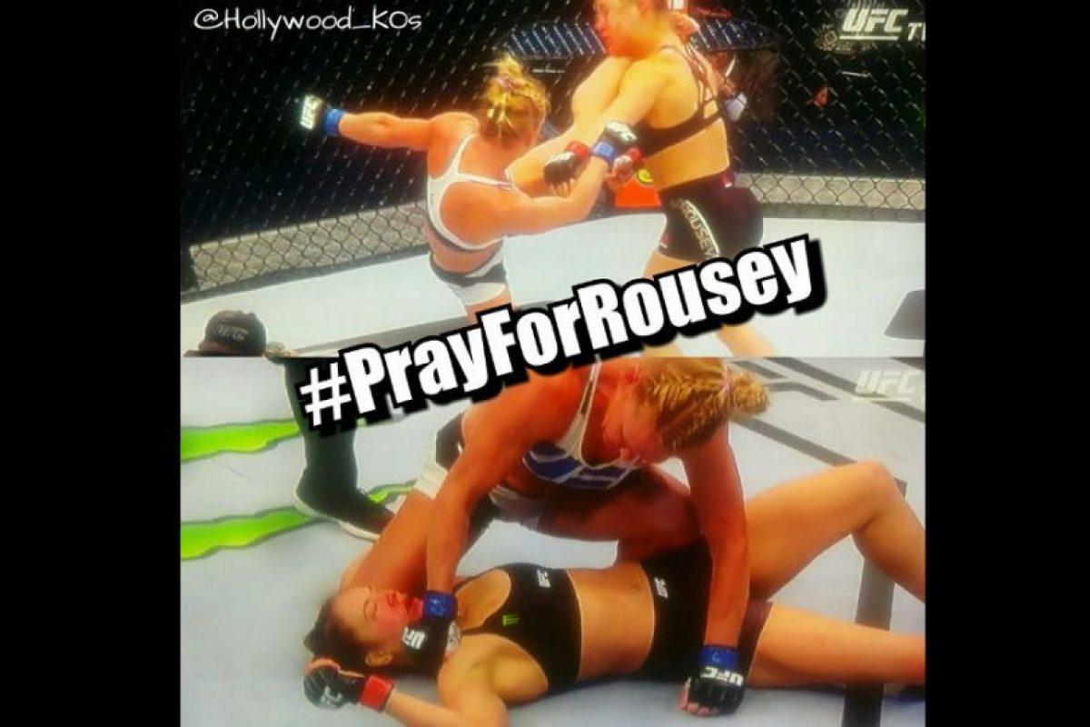 Oremos por Rousey. Foto:Vía facebook.com/MemesMMA