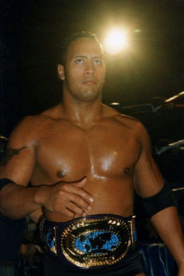 Así lucía en sus primeros días como luchador Foto:WWE