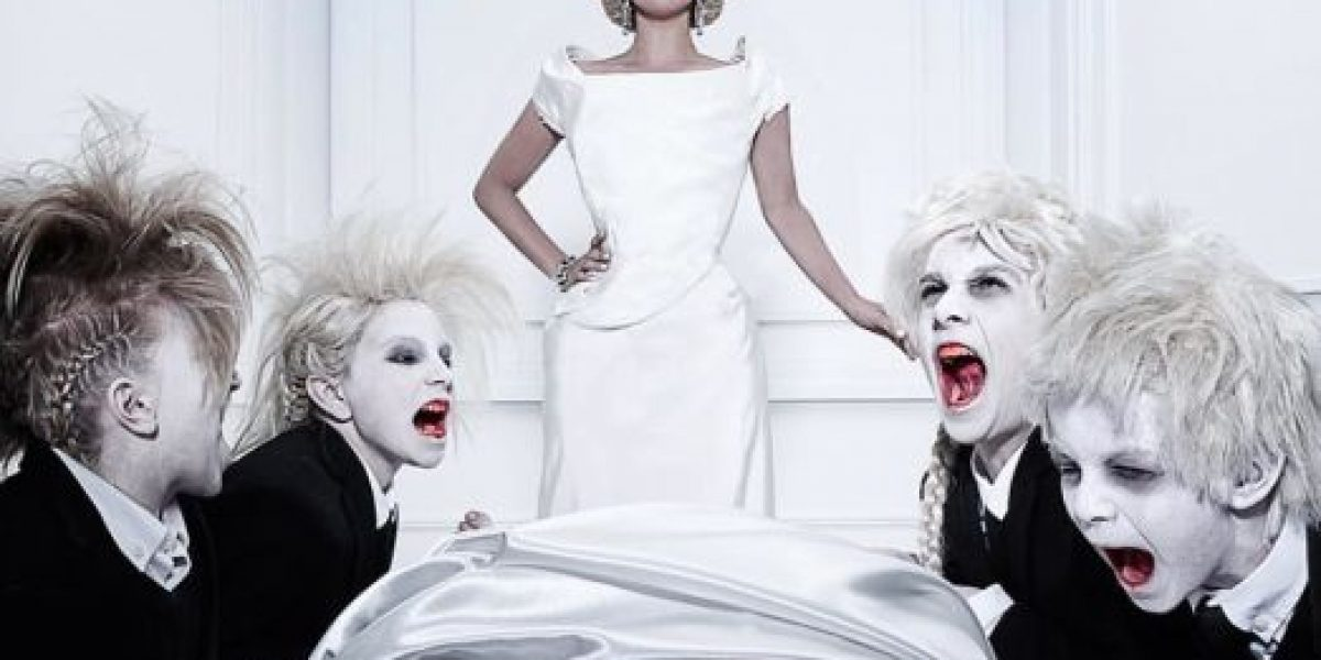 Lady Gaga mostró su lado más asqueroso en