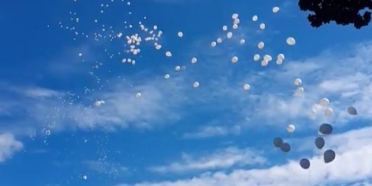 Con globos conmemoran Día mundial de las víctimas de accidentes