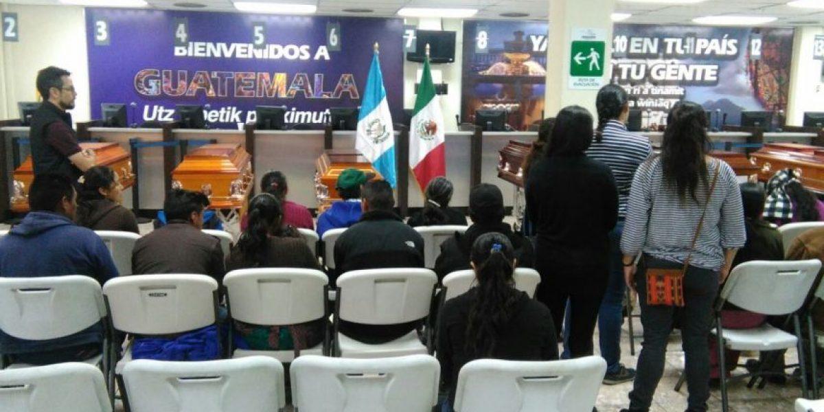 Repatrian a seis guatemaltecos masacrados en México