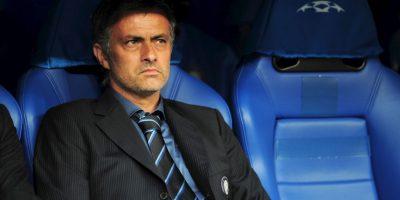 """Después de Chelsea, Mourinho dirigió al Inter de Milán, pero no llegó a su tercer año con los """"neroazurri"""". Foto:Getty Images"""