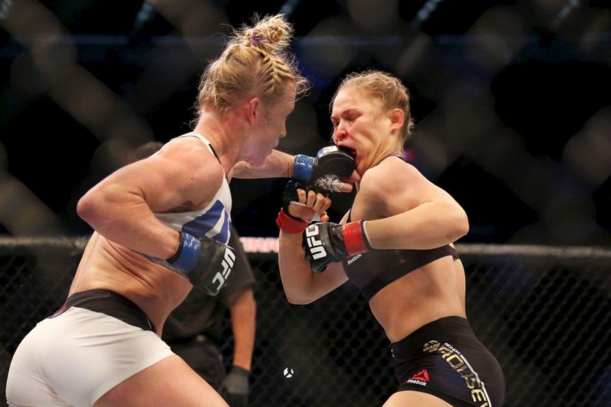 Todo llega a su fin, y esta vez, le tocó caer a Ronda Rousey. Foto:Getty Images