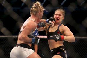 Todo acabó en el segundo asalto. Foto:Getty Images