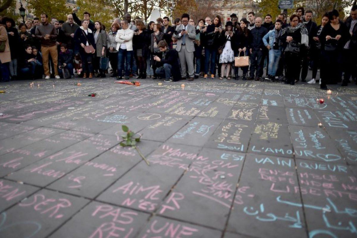 Durante el evento hubo una falsa alarma de balacera que causó el pánico entre los presentes. Foto:Getty Images