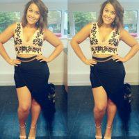 Afirma que ella había sido más delgada que todas las que inspiran a ser delgadas en Instagram. Foto:vía Instagram/megancrabbe