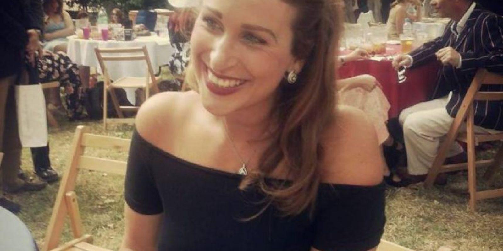 Ella es Lauren Islington. Tiene 28 años. Foto:vía Tumblr