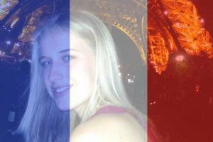 Isobel Bowdery es una estudiante sudafricanda de 22 años que sobrevivió a la masacre del teatro Bataclan el pasado viernes en París. Foto:vía Facebook/Isobel Bowdery