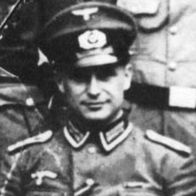 Klaus Barbie fue uno de los más famosos criminales nazis Foto:vía Wikipedia