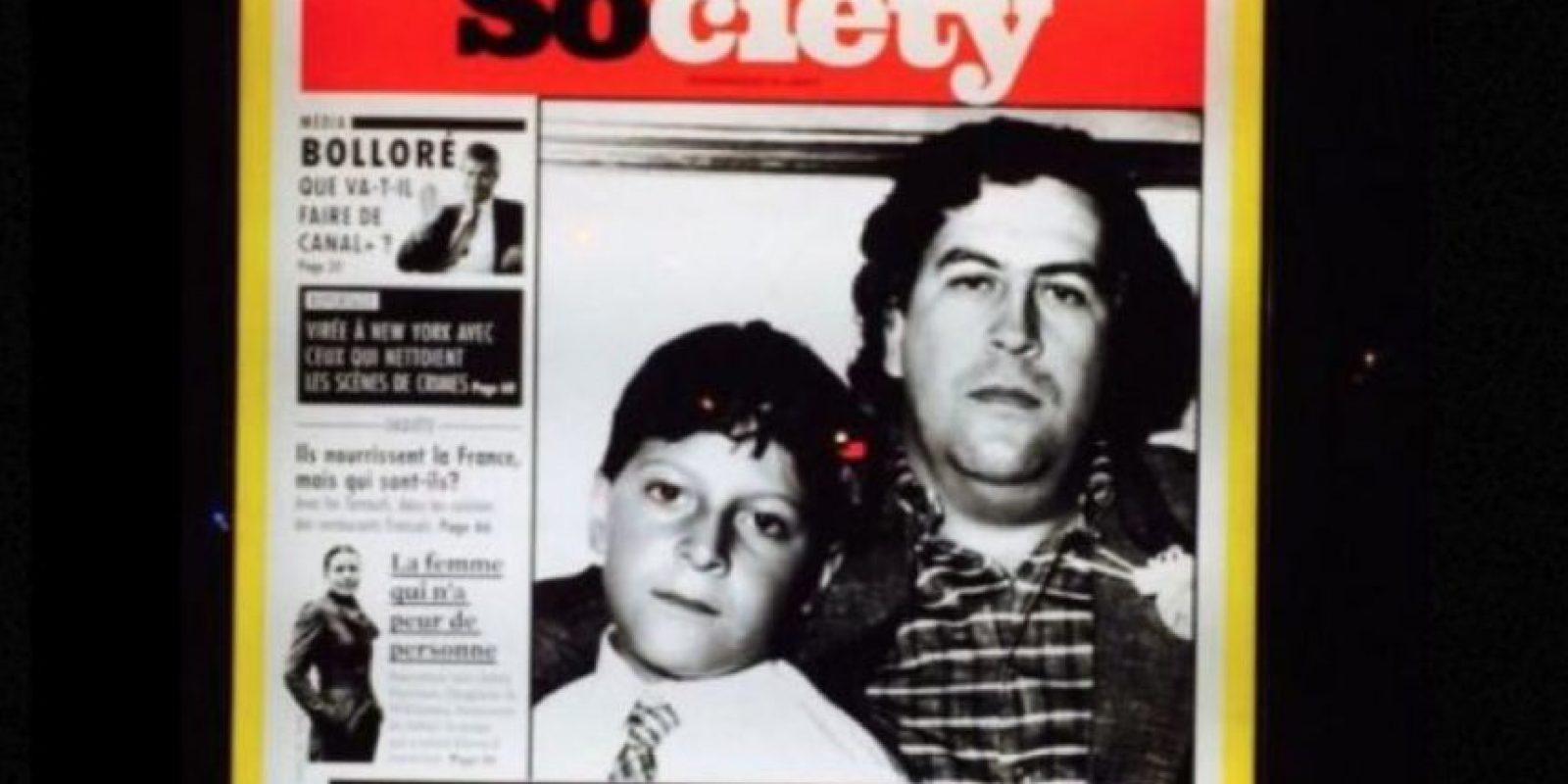 Y por si fuera poco, se alió con Pablo Escobar en el tráfico de drogas. Incluso llegó a conocerlo. Foto:vía Facebook/Juan Sebastián Marroquín