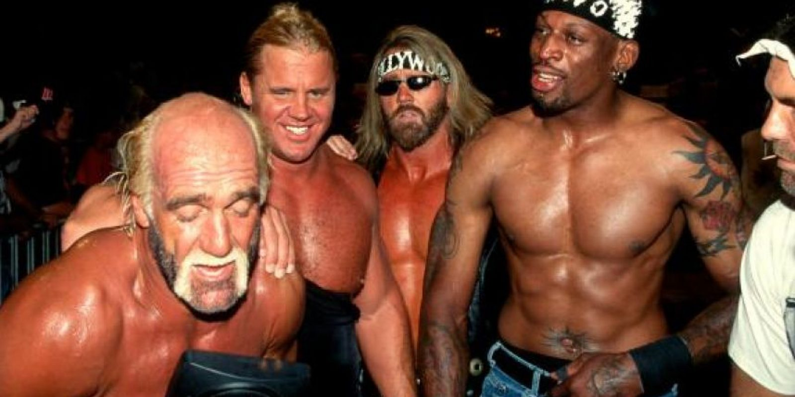 "Además, fue miembro de ""The New World Order"", e hizo equipo con Hulk Hogan en dos ediciones de Bash at the Beach. Foto:WWE"