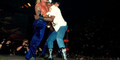 Estuvo en la WWE hasta el año 2000. Foto:WWE