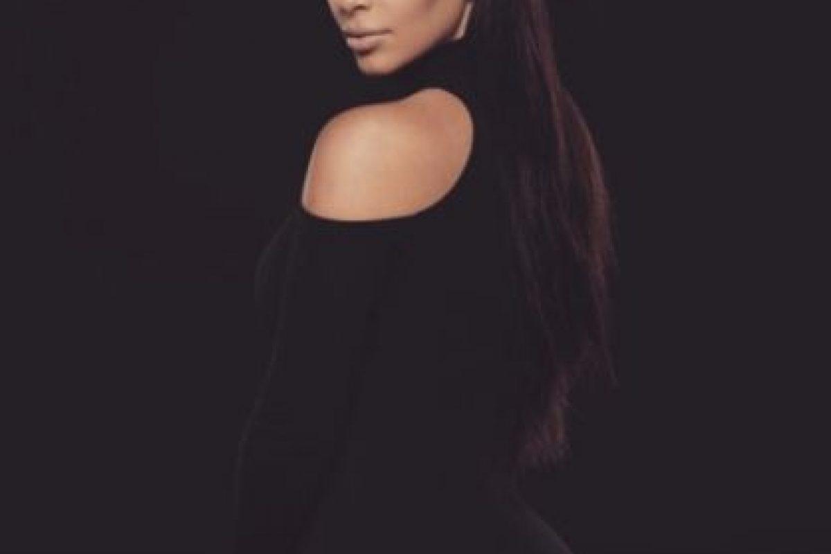 Ahora está casada con Kanye West, y es madre de la pequeña North West y un bebé que viene en camino. Foto:vía instagram.com/kimkardashian