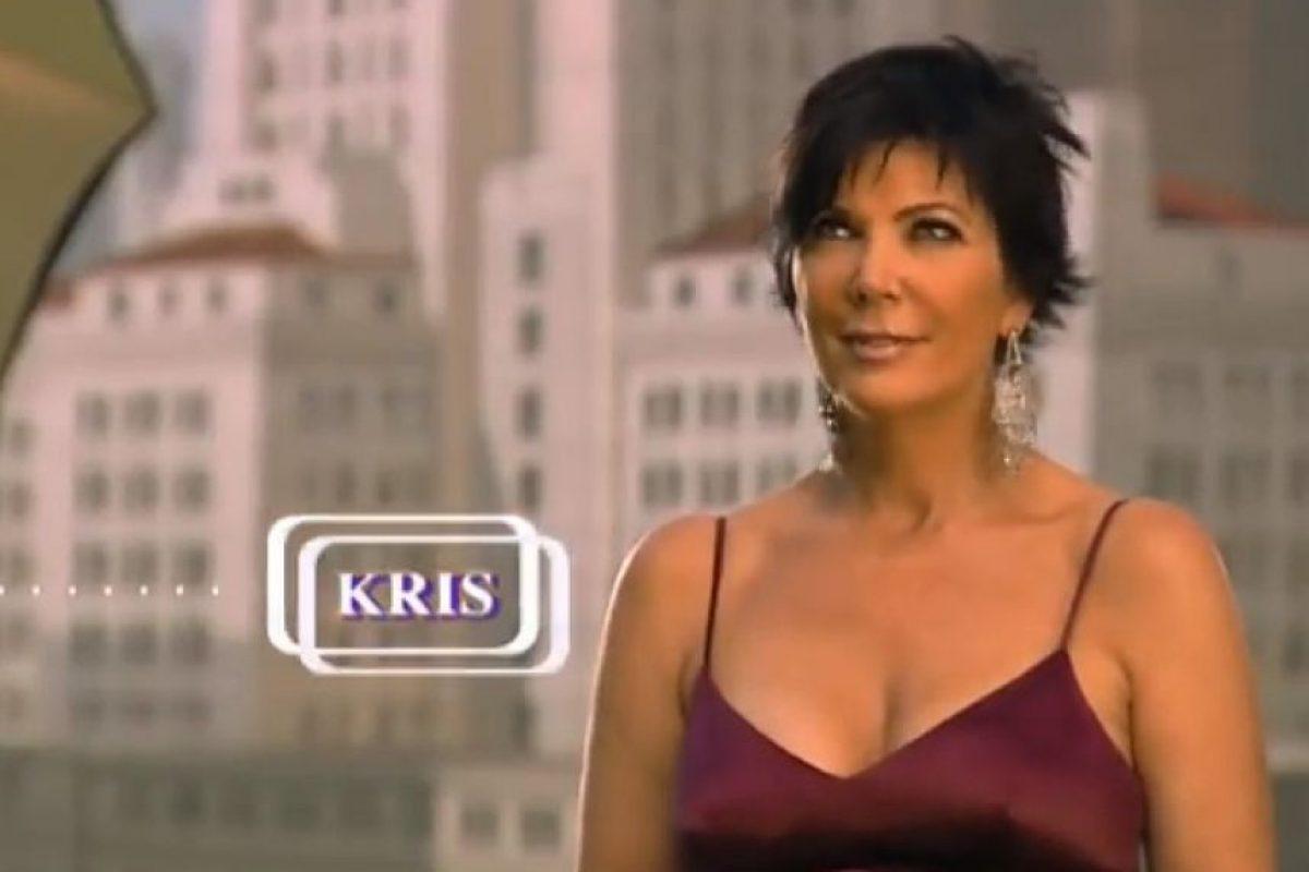 Kris Jenner, la matriarca de esta familia y productora del show. Foto:E! Entertainment