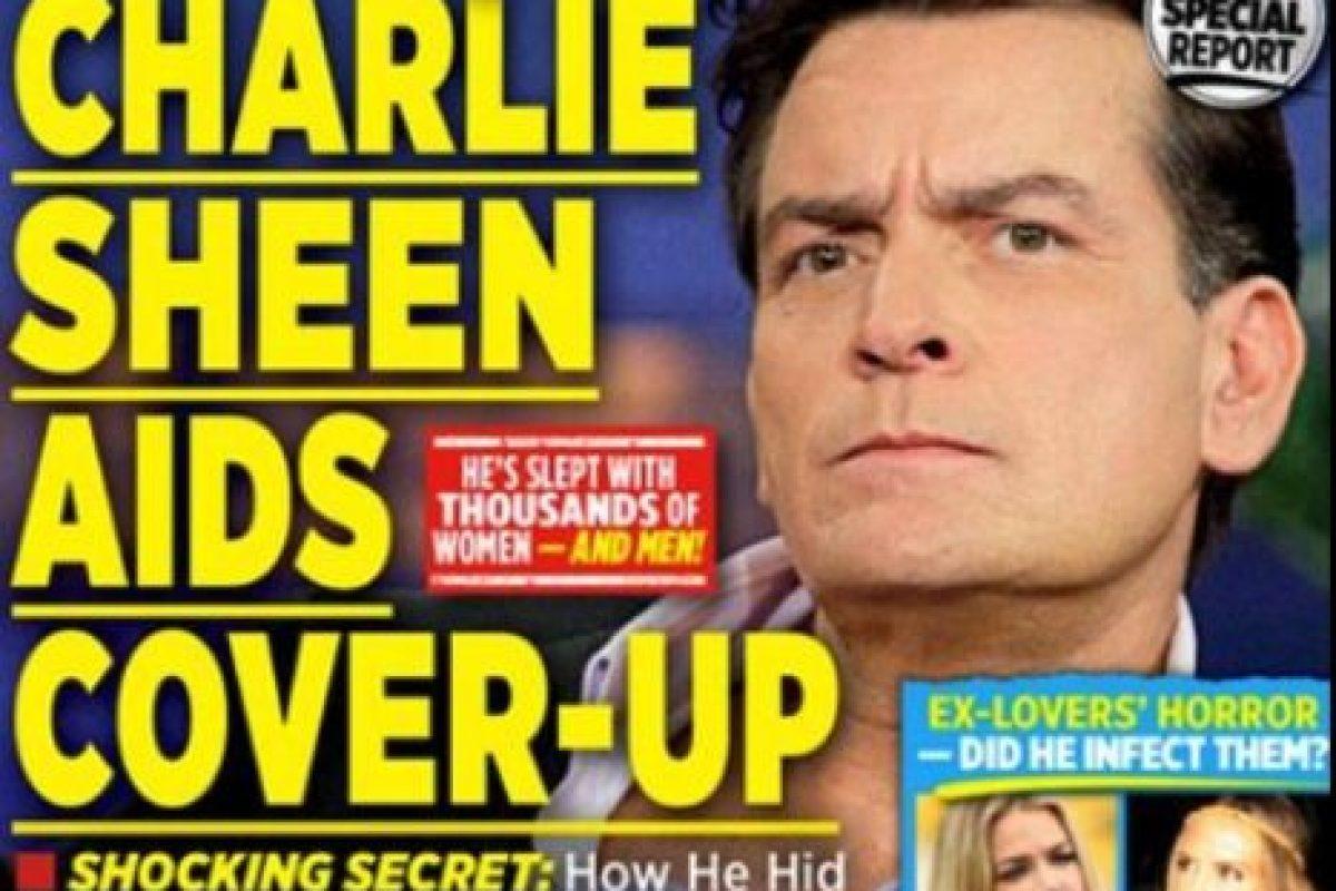 El periódico The National Enquirer indicó que, luego de 18 meses de investigación, el actor había confirmado su diagnóstico de VIH. Foto:The National Enquirer