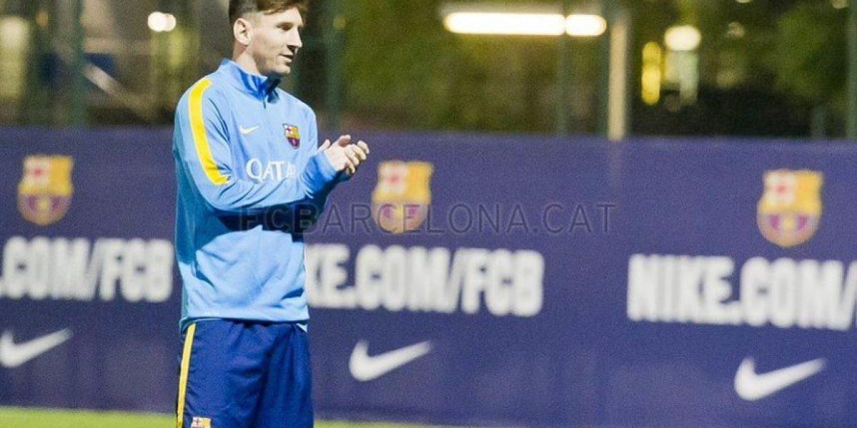 Publican primeras imágenes del retorno de Leo Messi