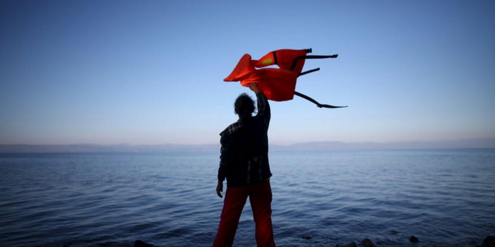1. Se estima que solo este año han llegado cuatro millones de migrantes y refugiados a Europa. Foto:Getty Images