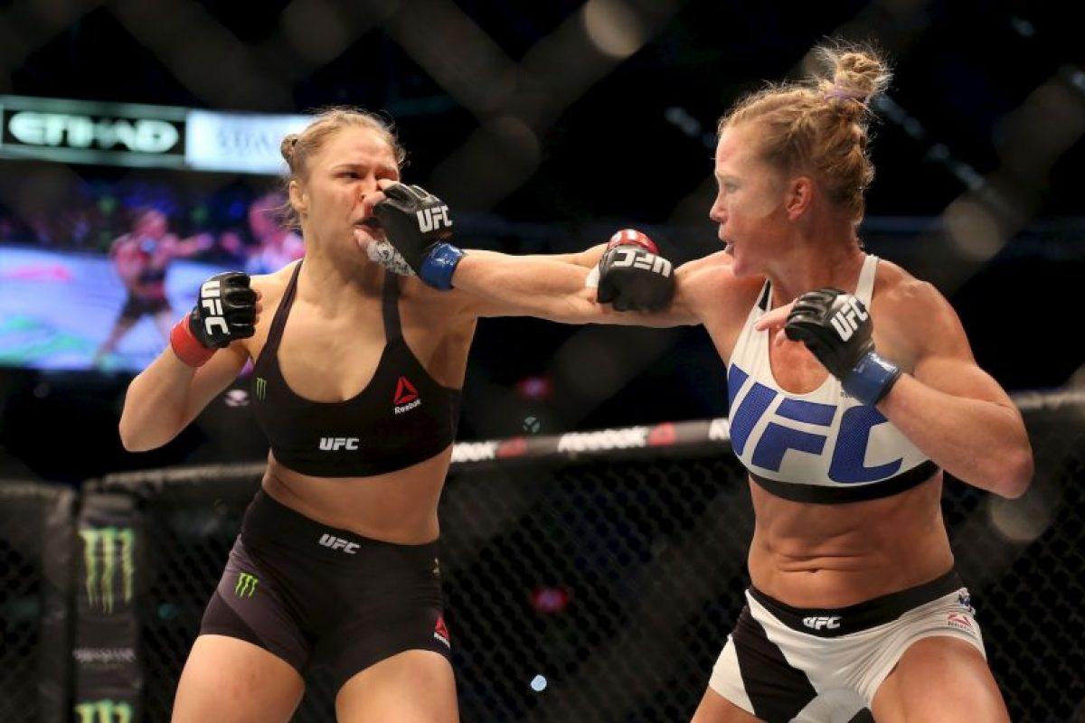 Ahora, Holly Holm es la nueva monarca de las MMA Foto:Getty Images