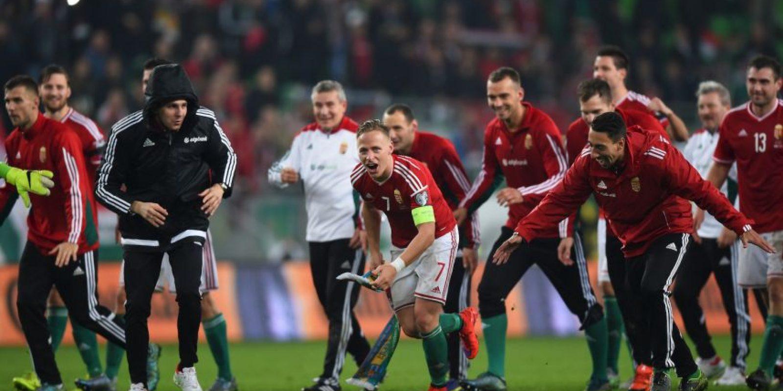 La Selección de Hungría Foto:Getty Images