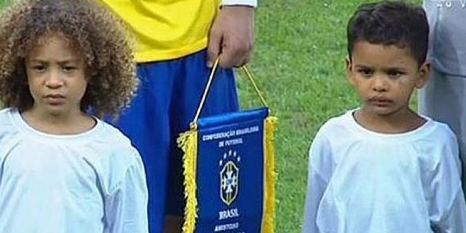 Incluso los acompañeron en partidos de la Copa del Mundo. Foto:Vía twitter.com