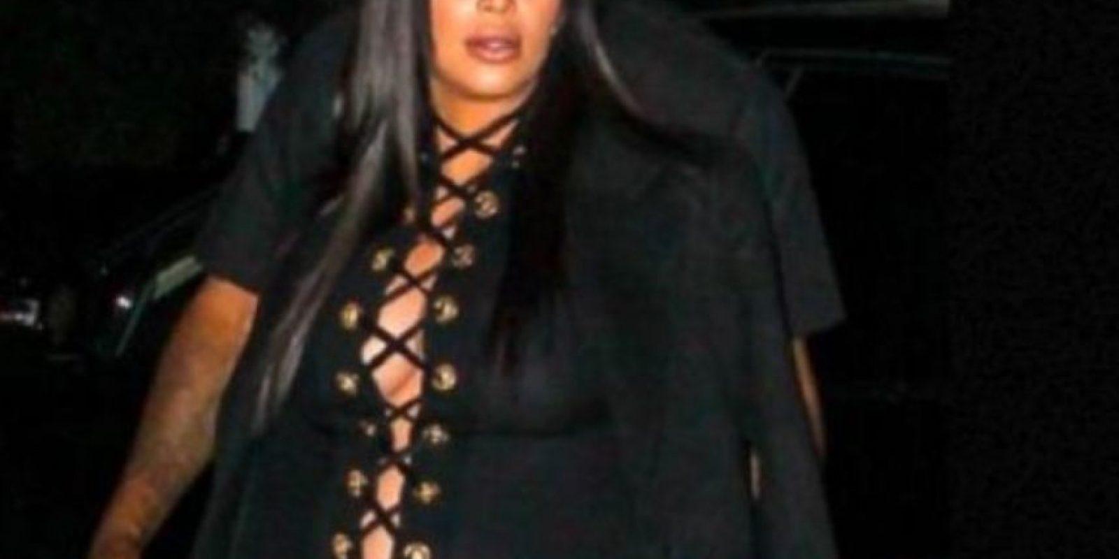 El mal gusto de Kim. Foto:vía Getty Images