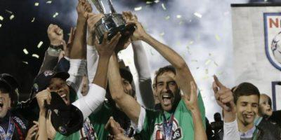 Se despidió con el Campeonato de la Liga Norteamericana de Fútbol Foto:Getty Images