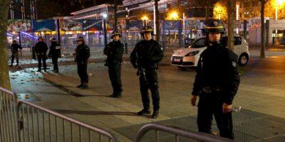 La policía resguardó las calles. Foto:AP