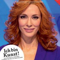 Una presentadora de noticias… Foto:vía shop.monopol-magazin.de