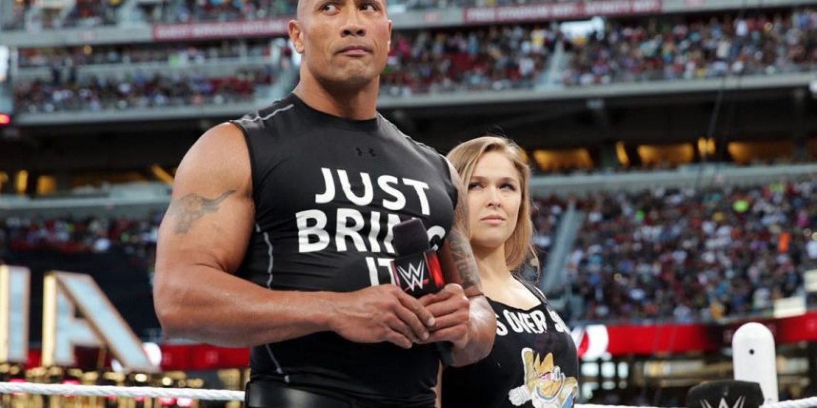 """""""Estoy entusiasmada con el progreso de WWE, pero siento que áun se pueden hacer muchas cosas"""", indicó en una entrevista con la revista """"Rolling Stone"""". Foto:WWE"""