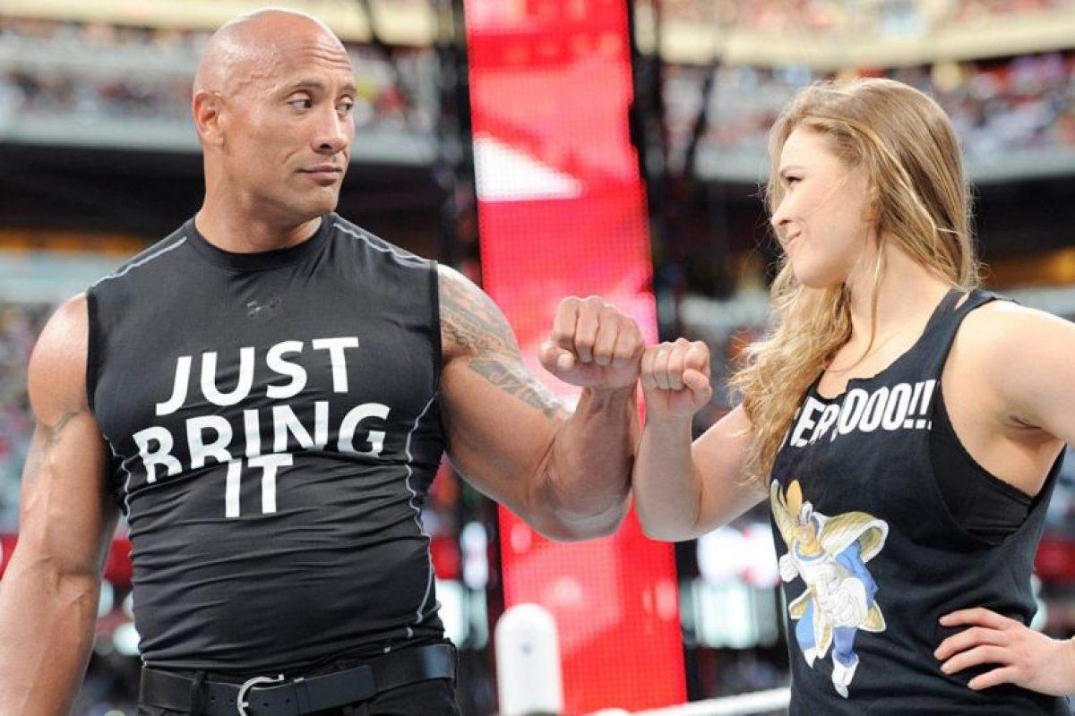 """Así fue la participación de """"Rowdy"""" en la WWE Foto:WWE"""