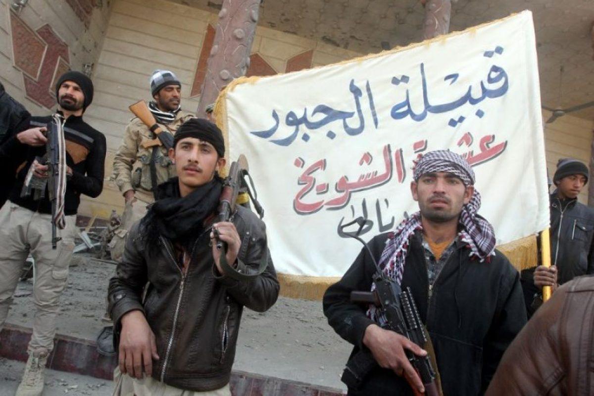 El grupo yihadista aterroriza regiones de países como Irak y Siria desde 2014 Foto:AFP