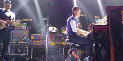 """Coldplay le dedica """"Imagine"""" a las víctimas de París"""