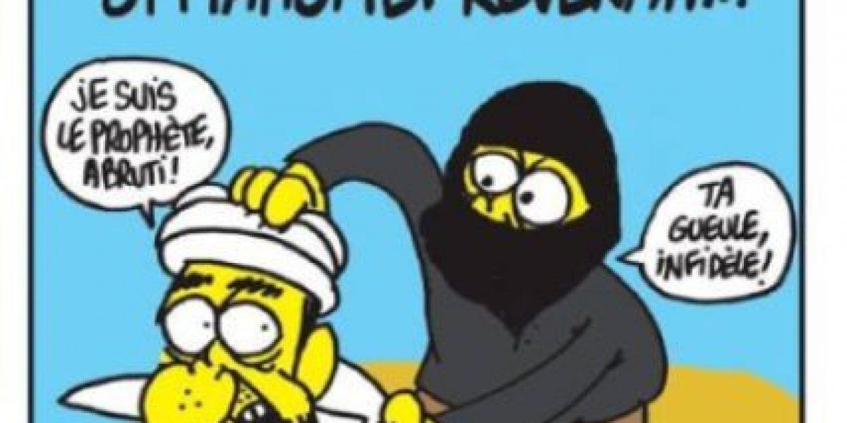 Charlie Hebdo le responde a los terroristas con esta portada