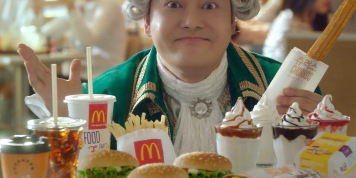 No creerás cuál es el nuevo postre que McDonalds sirve en Corea del Sur