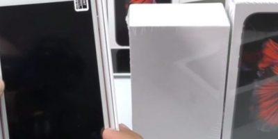 2) El dispositivo y la caja. Foto:mayiandjay / YouTube