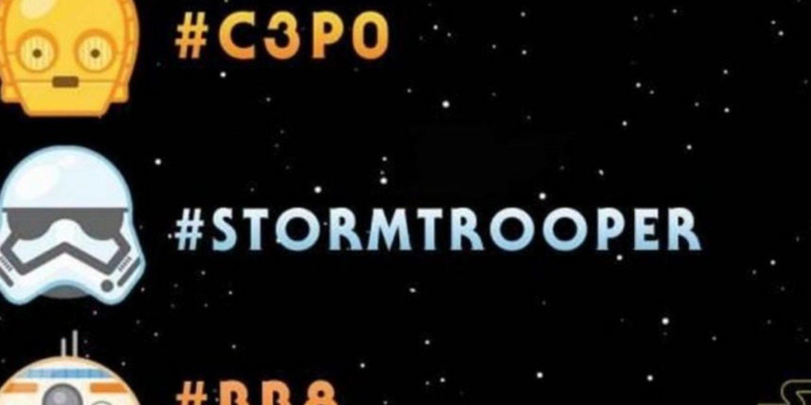"""4- Emojis por el día de """"Star Wars"""". Foto:vía Twitter.com"""