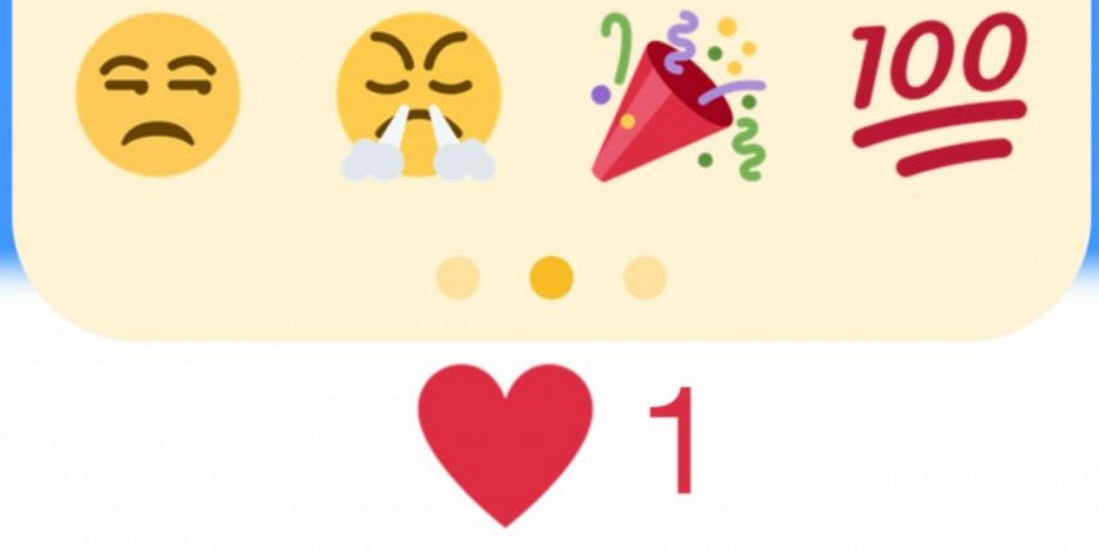 Los emojis con los que experimenta Twitter. Foto:vía Twitter.com