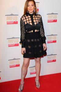 Lohan volvió a los set de grabación Foto:Getty Images