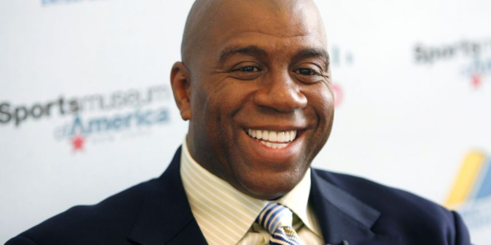 Magic Johnson Foto: Agencias