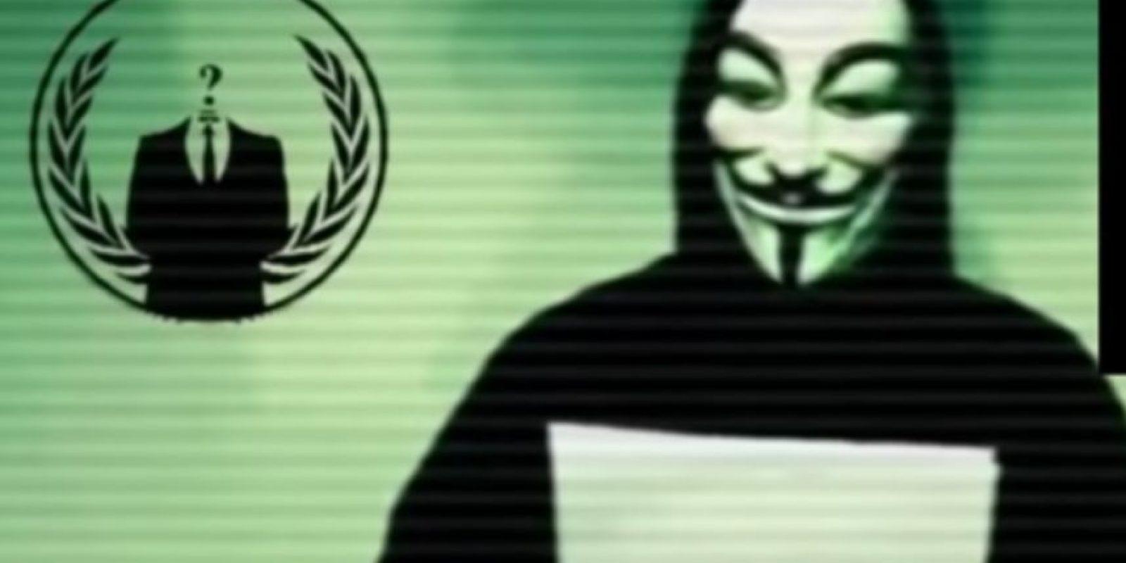 Anonymous lanza regularmente campañas de ciber ataque contra los grupos de odio Foto:Vía Youtube