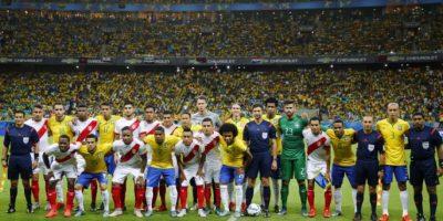 Los brasileños no tuvieron problemas para dominar a la selección peruana en la cuarta fecha. Foto:AFP